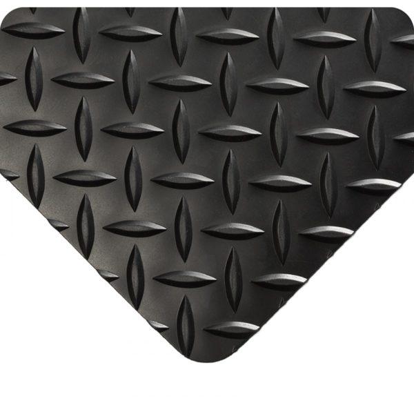 Diamond Plate Runner Black