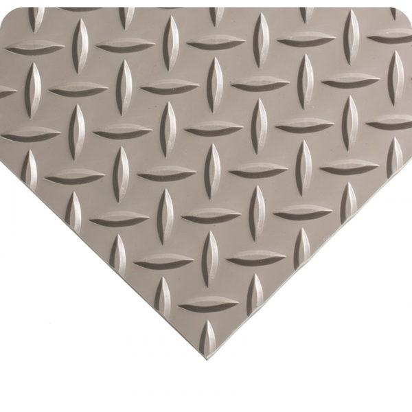 Diamond Plate Runner Grey