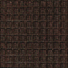 Close up view of Dark Brown Waterhog Classic entrance mat showing waffle surface pattern of the carpet mat