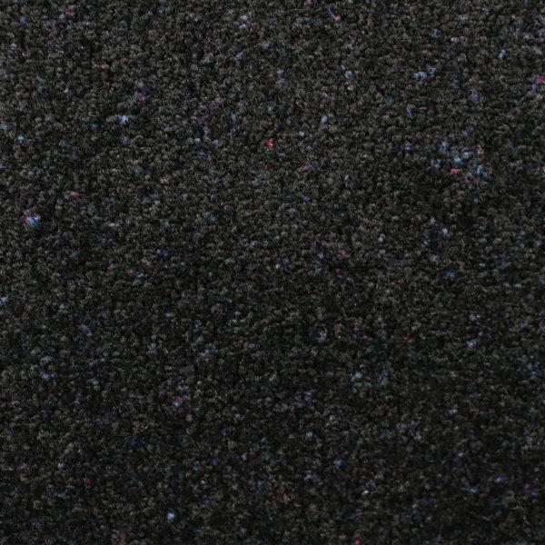 Close up view of Tri Grip Indoor Door Mats - Black Opal