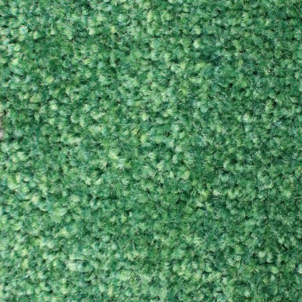 Close up view of Tri Grip Indoor Entrance Mats - Emerald Green