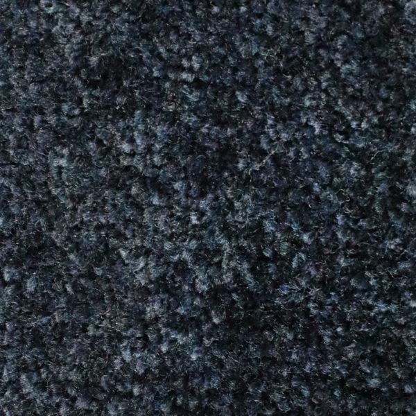 Close up view of Tri Grip indoor entrance floor mat - Navy