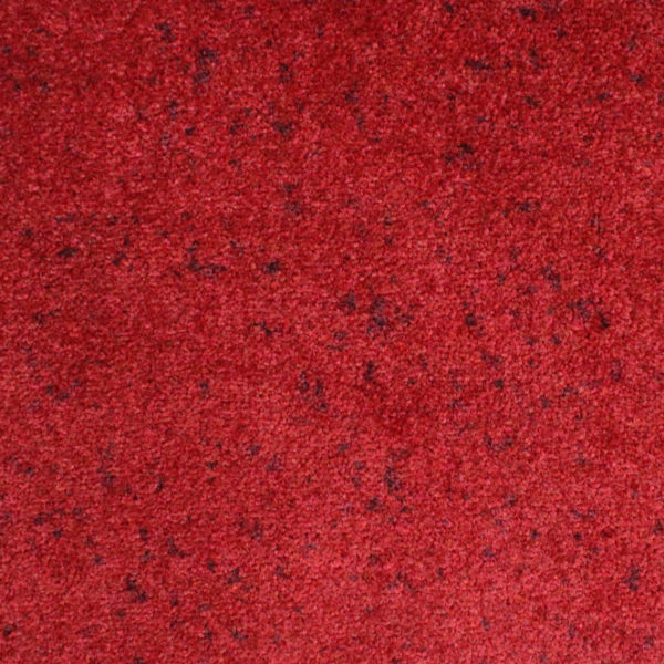 Close up view of Tri Grip indoor entrance floor mat - Red Black