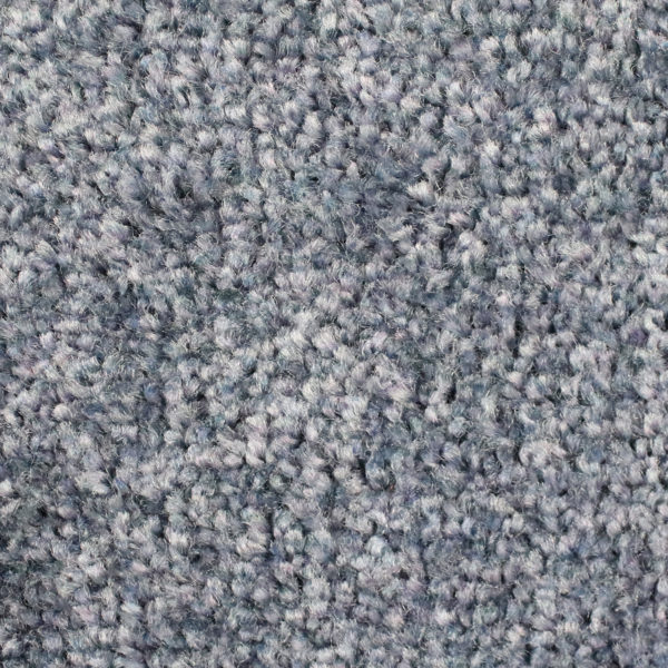 Close up view of Tri Grip indoor entrance floor mat - Silver