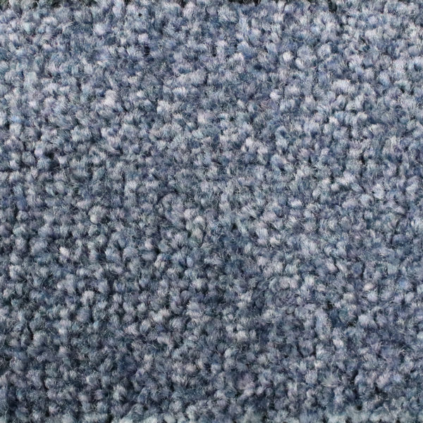 Close up view of Tri Grip indoor walk off mat - Steel Blue
