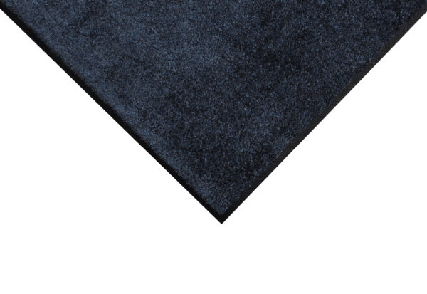 Corner Detail for Tri Grip Entrance Matting showing Carpet Mat Surface with Black Rubber Edges