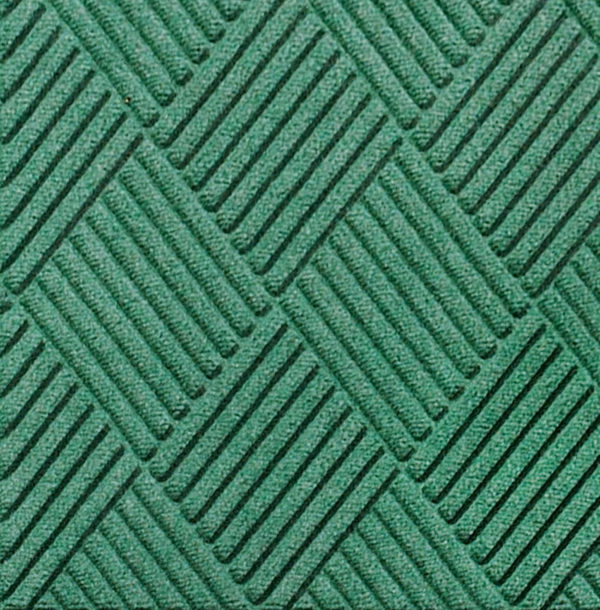 Close up view of Waterhog Classic Diamond entrance floor mat in the color Aquamarine