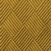 Close up view of Waterhog Classic Diamond floor mats in the color Yellow