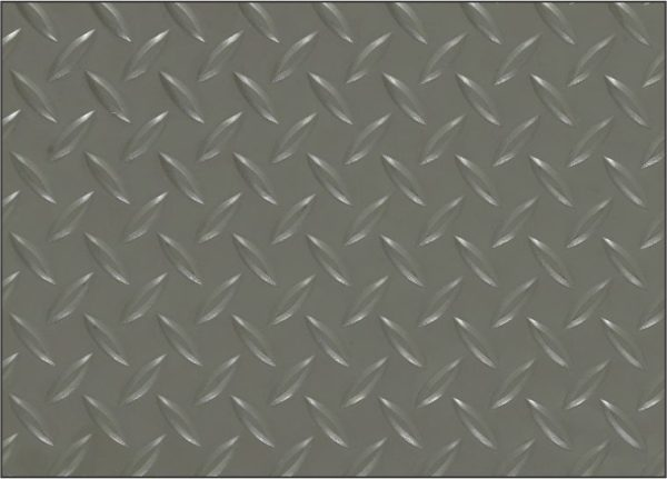 Diamondplate Military Switchboard floor mat Surface Detail close up view