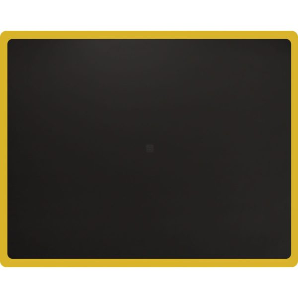 Tough Guy Anti Fatigue Mat with Yellow Border - Square