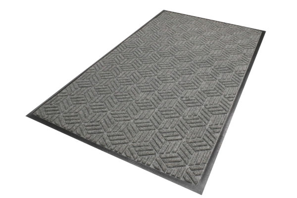 Waterhog Legacy Eco Floor Mat Grey Ash Entrance Mat Standard Edge
