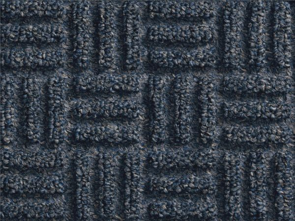 Close up of surface pattern for a Mauve Waterhog Masterpiece Select Ocean Wave Indoor Door Mat