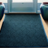 Waterhog Diamondcord Indoor Floor Mat used inside an entrance on carpet