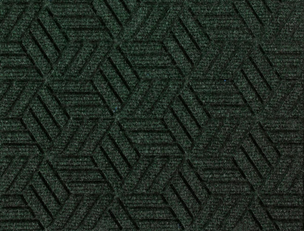 Close up view of a Southern Pine Waterhog Legacy Eco entrance mat detailing the high tech floor surface pattern of the walk off mat