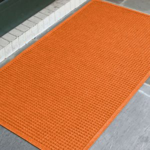 Waterhog Fashion Outdoor entrance mats - Fashion Border - Orange