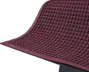 Waterhog Fashion Outdoor entrance mats - Fashion Border - Bordeaux