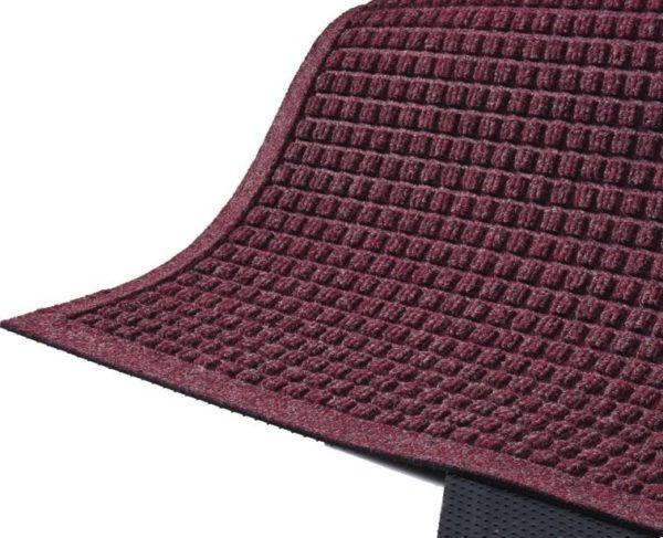 Waterhog Fashion Outdoor entrance mats - Fashion Border - Bordeaux