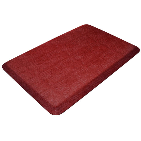GelPro Designer Kitchen Mat - Pebble Surface - Pomegranate