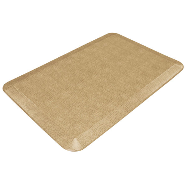 GelPro Designer Kitchen Mats - Pebble Surface - Wheat