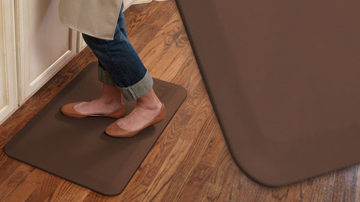 GelPro New Life Eco-Pro Anti-Fatigue Mat - Brown 20x32
