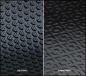 Happy Feet Anti Fatigue Mat Surface Options - Grip for wet areas or Texture