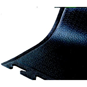 Happy Feet Linkable Industrial Floor Mat for Standing - Black