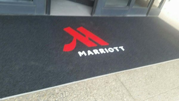 Recessed Floor mat with logo Piazza Inlay - St. Louis, MO