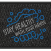 Stay Heathy Wash Your Hands 3'x 5' and 4' x 6' -Design 1