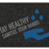 Stay Healthy SANITIZE your hands 3' x 5' & 4' x 6' -Design 3