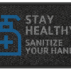 Stay Healthy SANITIZE your hands 3' x 5' & 4' x 6' -Design 4