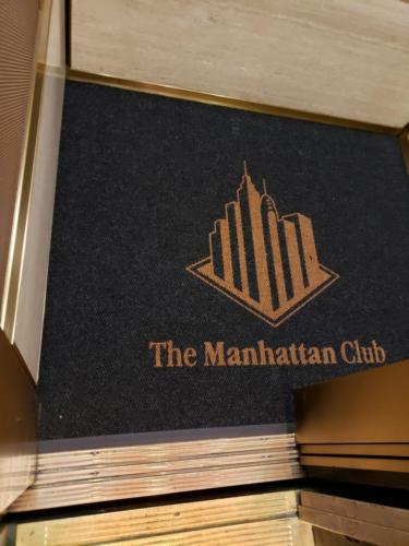Custom Cut Logo Mat for Elevator - Manhattan, NY